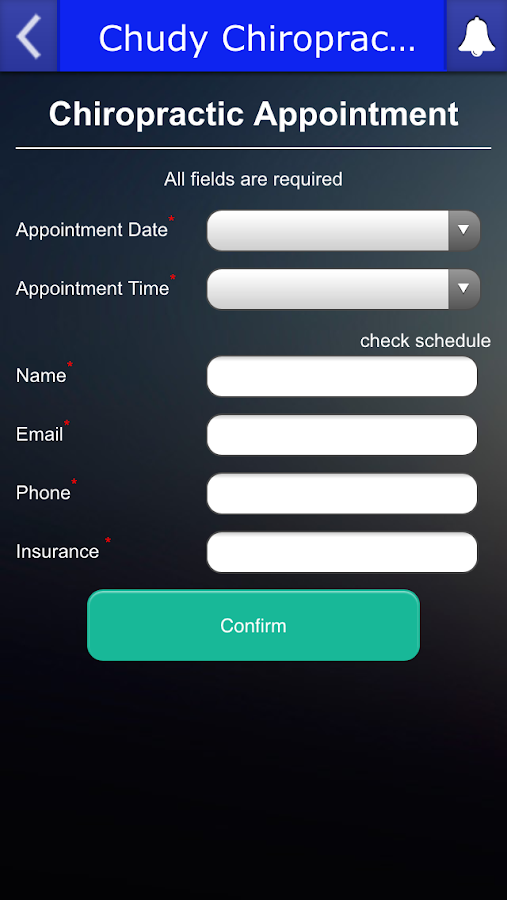 Chudy Chiropractic Clinic- screenshot