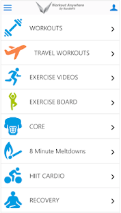 Workout Anywhere - náhled