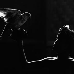 My Bird by Irawan Sudjana - People Portraits of Men