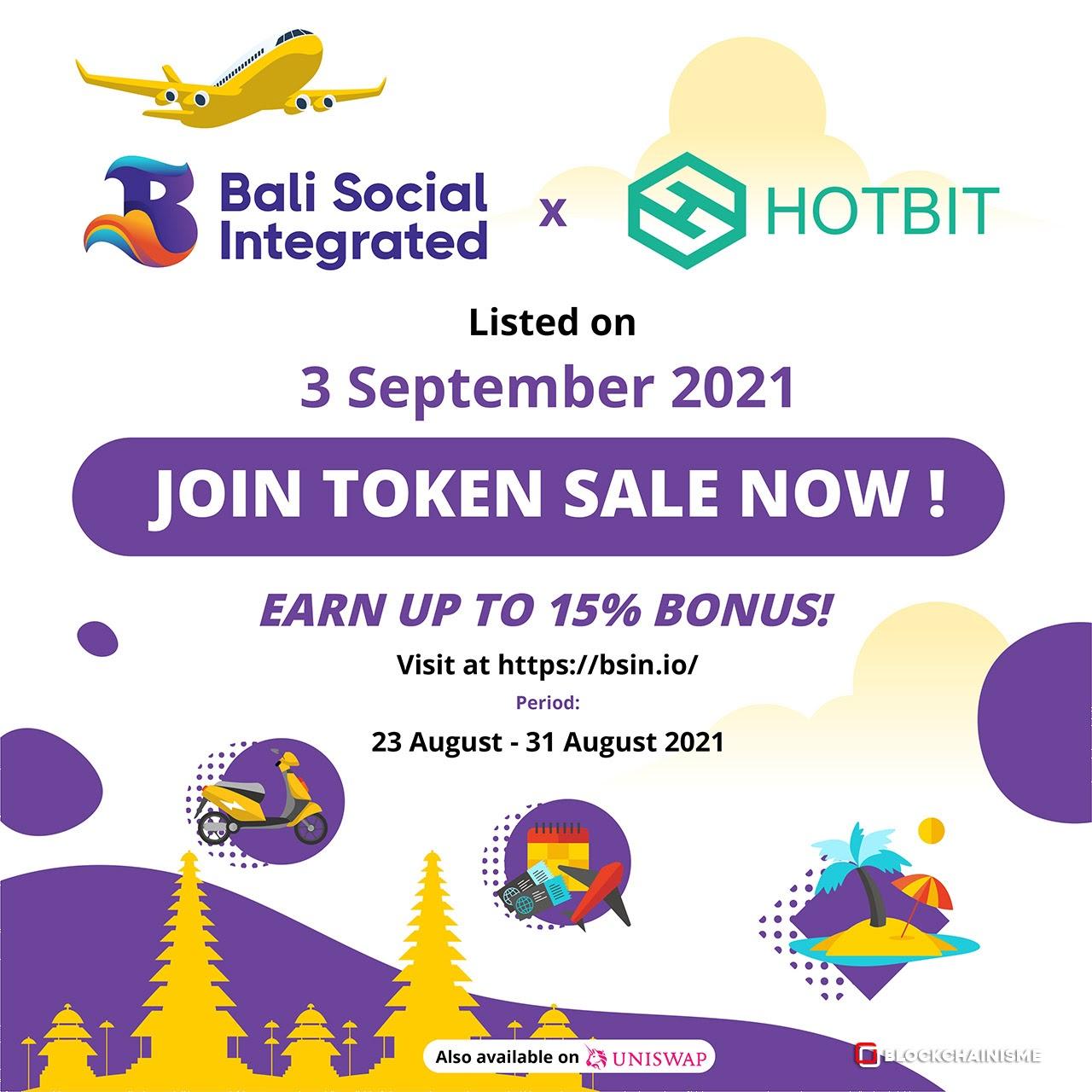 Pariwisata Bali Siap Bangkit, Bali Social Integrated (BSI) Siap Listing di Hotbit