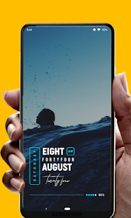 Wow! KWGT Screenshot