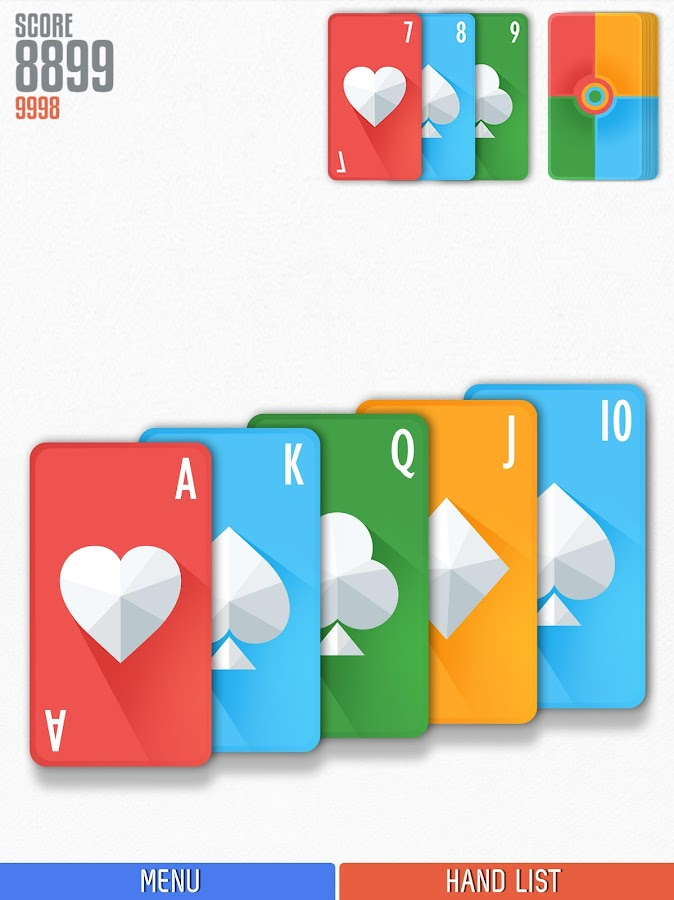 Politaire - Poker Solitaire- screenshot