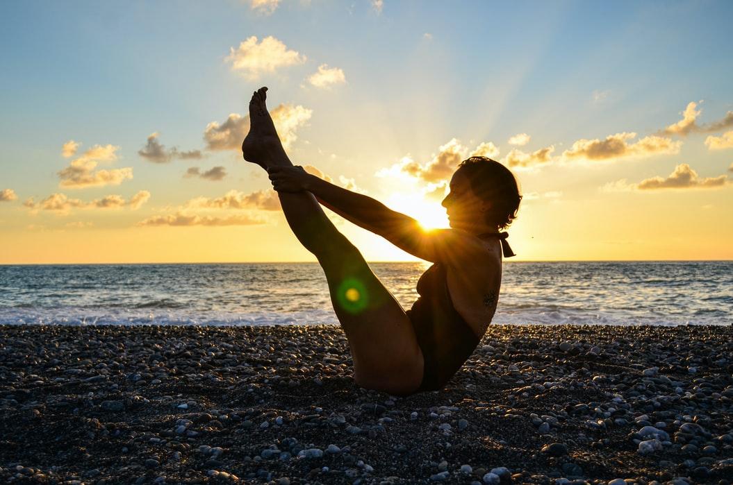 nauka asana yoga pose