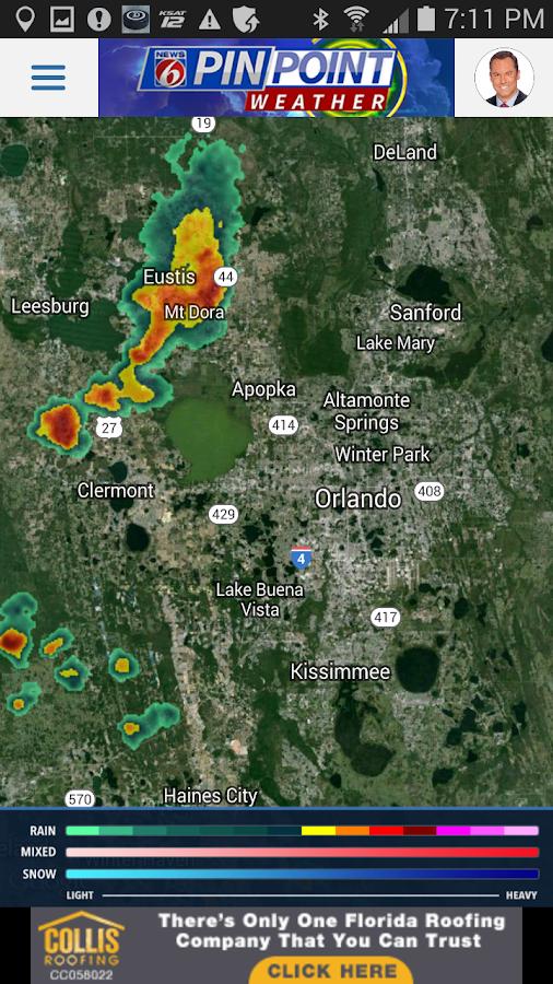 News 6 Pinpoint Weather- screenshot