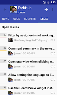 ForkHub for GitHub Screenshot 2