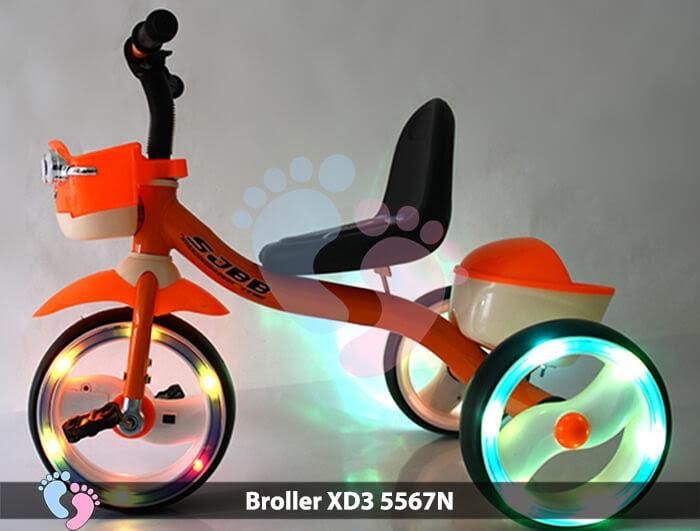 Xe đạp ba bánh Broller XD3-5567N 3