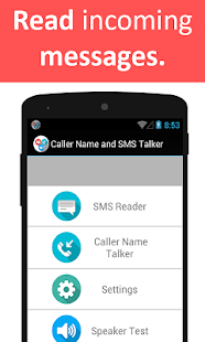 Caller Name and SMS Talker Screenshot