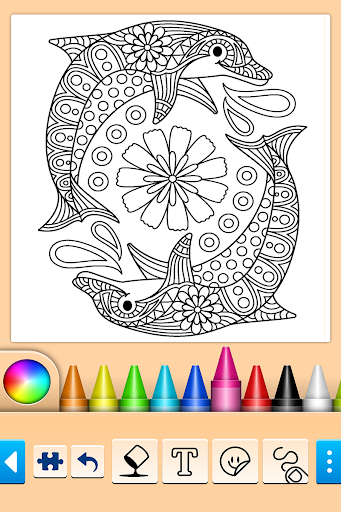Mandala Coloring Pages apktreat screenshots 1