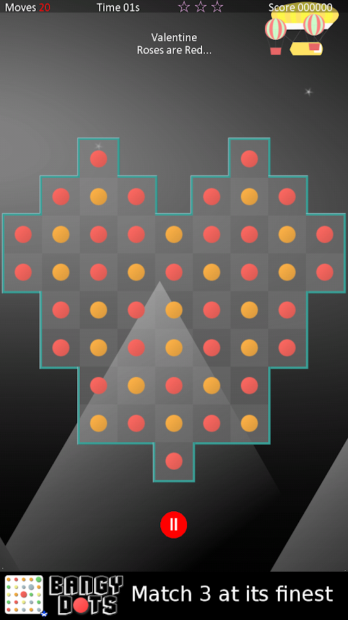 Bangy Dots - A Match 3 Game- screenshot