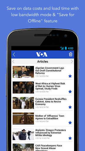VOA News 3.3.1 screenshots 7