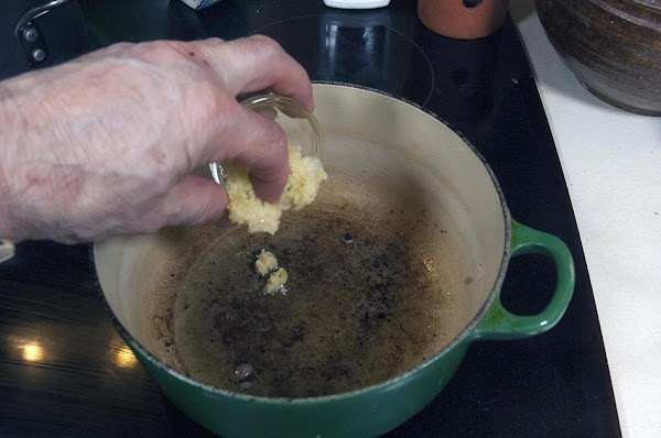 Remove all but 1 teaspoon of the bacon grease from the pot. Return the...