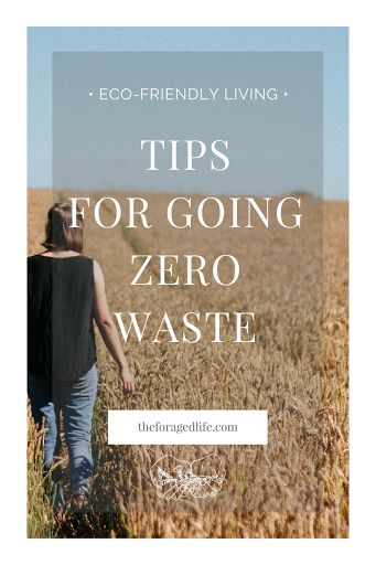 Tips for Going Zero Waste | Zero Waste can be a bit baffling but with these simple tips from Litterless's Celia you'll see how living closer to Zero Waste is absolutely doable! | Eco-Friendly Living by The Foraged Life