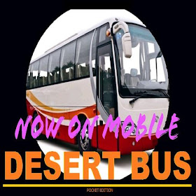 Bus On The Desert