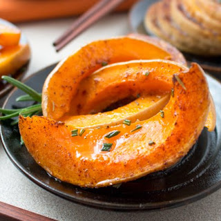 Spicy Rosemary Butternut Squash.