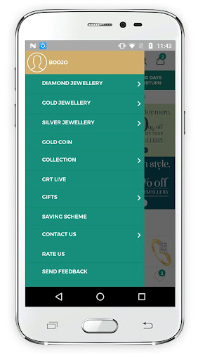 oriana.com by grt jewellers   online shopping screenshot 2