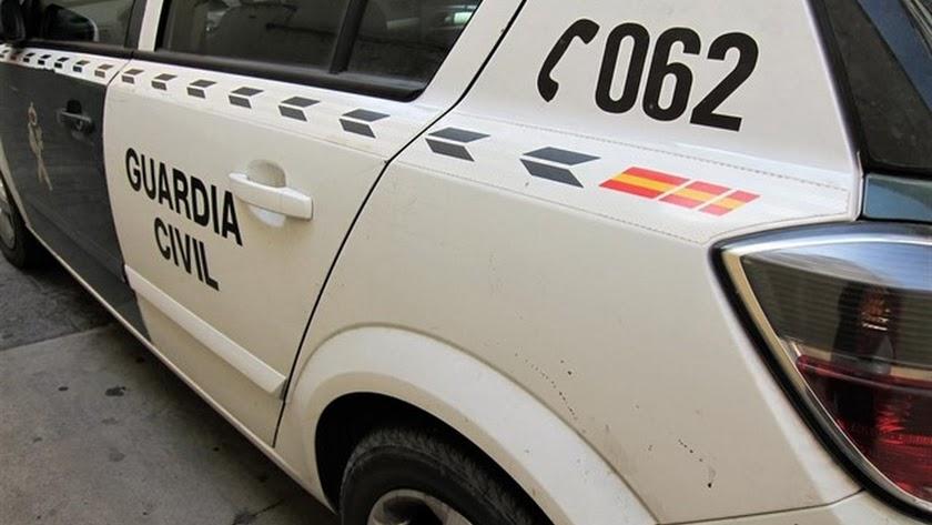 La Guardia Civil se personó en el lugar de los hechos.