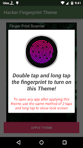 Hacker TouchScan AppLock Fake Apk Download For Android 3