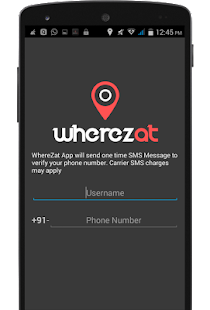 WhereZat - Share GPS Location- screenshot thumbnail