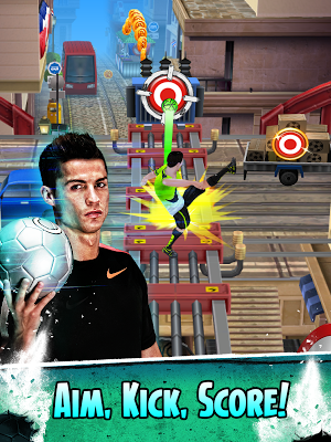 Cristiano Ronaldo: Kick'n'Run- screenshot