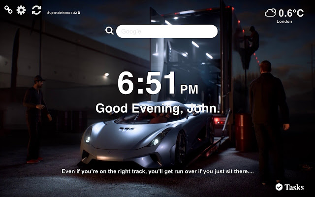 Need for Speed Payback Wallpapers Tab