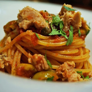 Spaghetti with Tuna and Anchovy