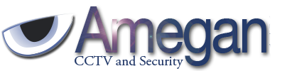 Amegan CCTV and Security Logo
