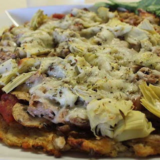 Low-Carb Pizza.