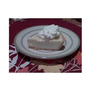 Creamy Key Lime Pie.