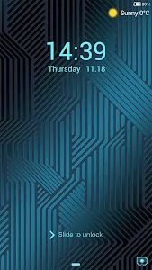IC Technology locker theme screenshot 0