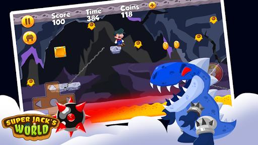 Super Jack's World - Super Jungle World screenshot 2