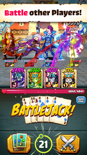 Battlejack: Blackjack RPG screenshot 3