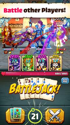 Battlejack: Blackjack RPG - screenshot