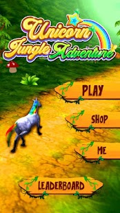 Unicorn Jungle Adventure - náhled