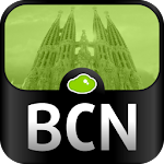 Barcelona Travel Guide Icon