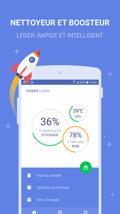 Power Clean - Optimize Cleaner – Capture d'écran