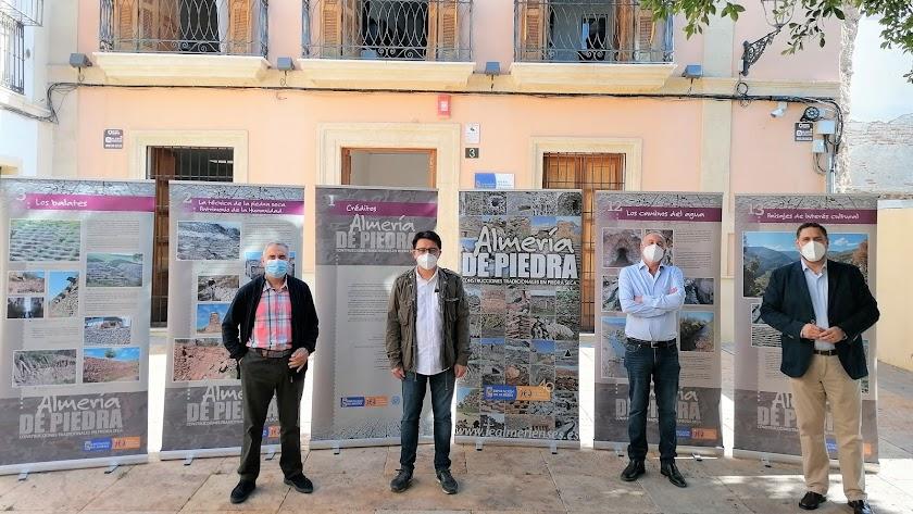 Francisco Checa, Manuel Guzmán, Juan Antonio Muñoz y Francisco Alonso.