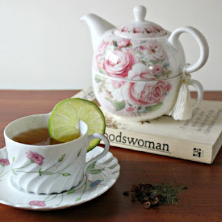Rose Hip Tea Recipe for Stomach Upsets.