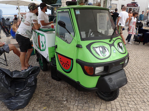 三輪車@ポルトガル