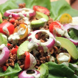 Paleo Lettuce Tacos.