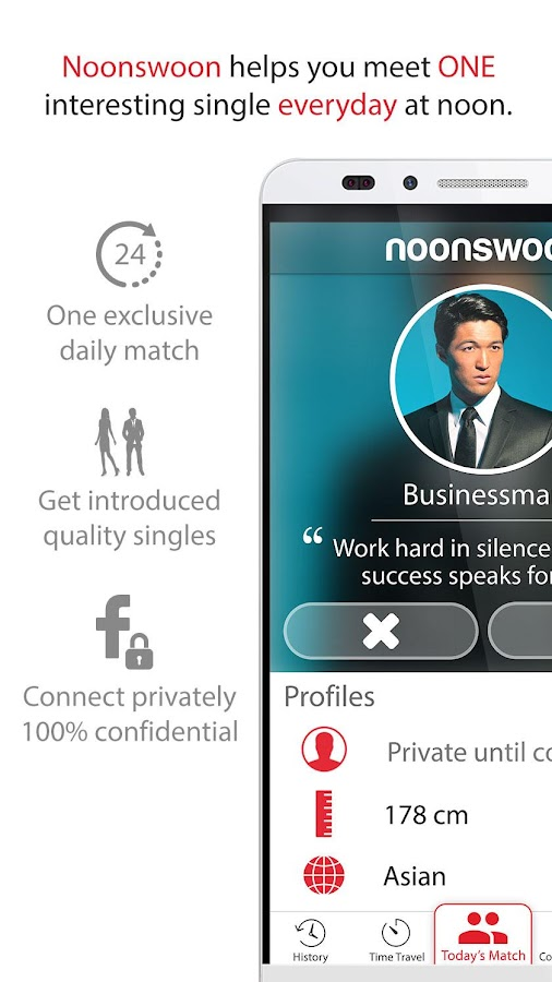 Noonswoon® | Dating - Match, Chat, Meet- screenshot