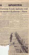 Photo: 1962 Avisartikel om fynsk roning