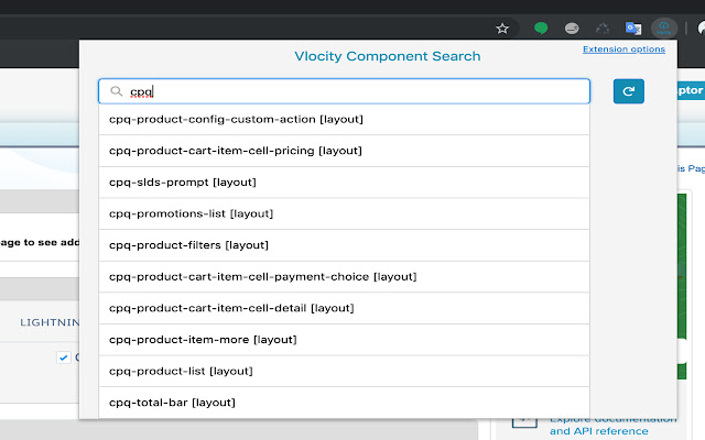 Vlocity Components Search