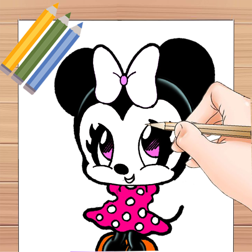 Learn To Draw Miky Mouse