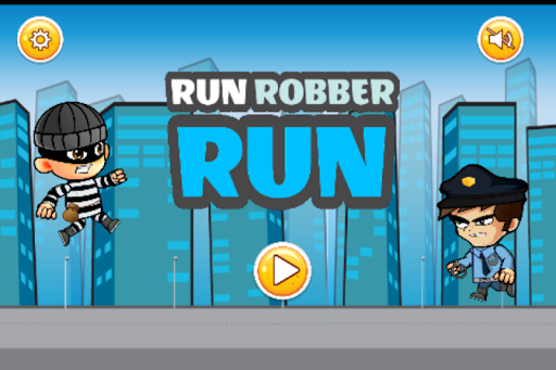 Robber Run - Jeu de Police Chase  captures d'écran 1