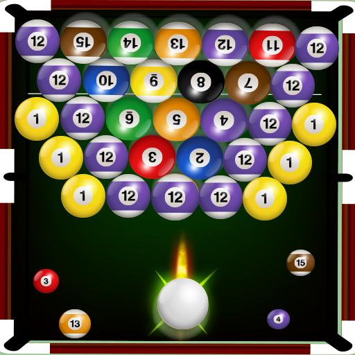 Bubble Snooker Shoot