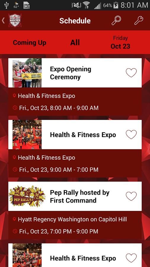 Marine Corps Marathon- screenshot