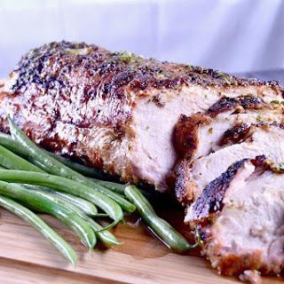 Grilled Cuban Mojo Pork Roast Recipe