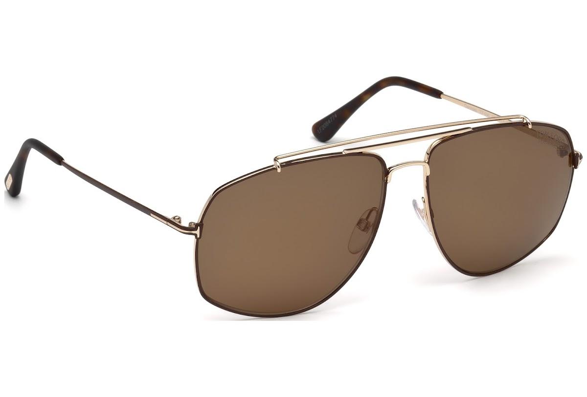 d4ffe02e654c ... Sunglasses Tom Ford Georges FT0496 C59 28M (shiny rose gold   roviex  polarized). Sale