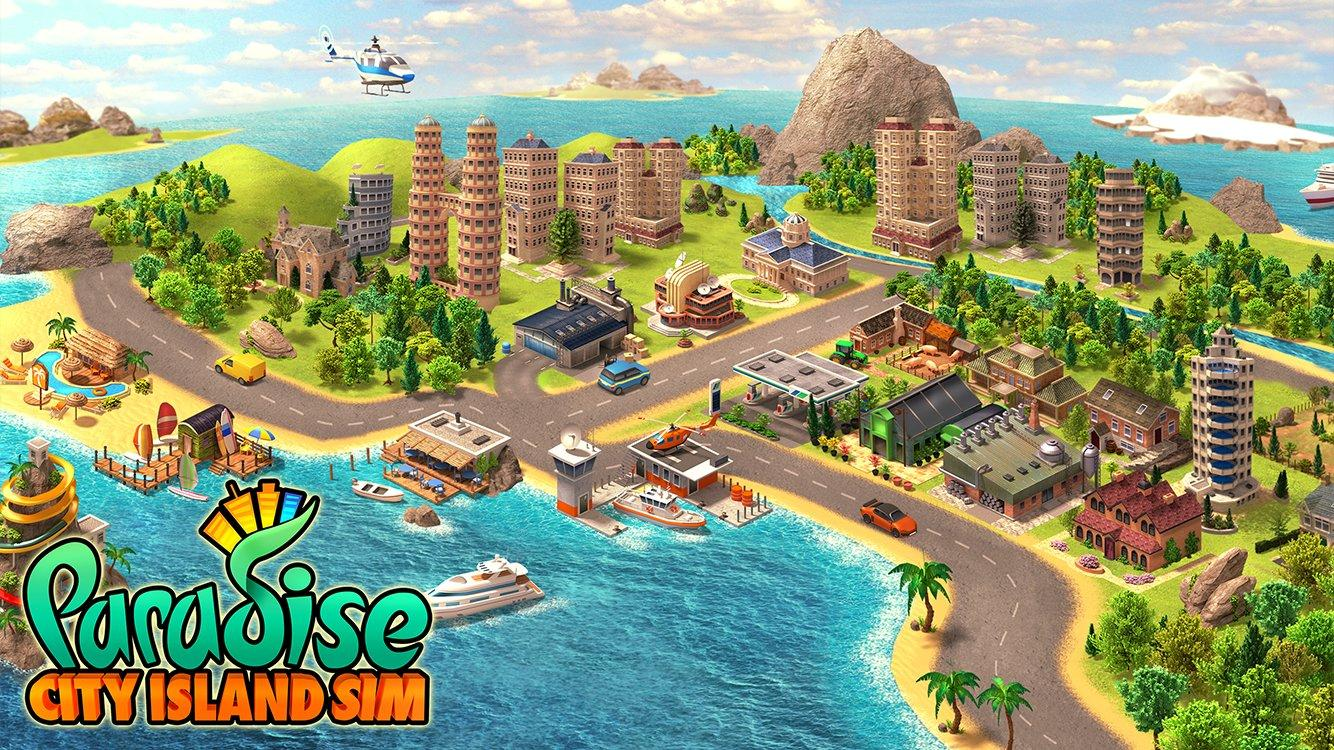 Paradise City Island Sim: Resort Bay Game Update- screenshot
