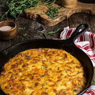 Easy Cheesy Moussaka {potatoes + Meat Casserole}